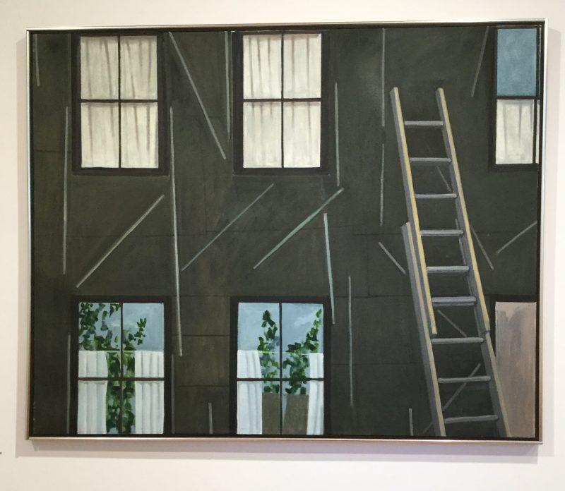 Lois Dodd painting