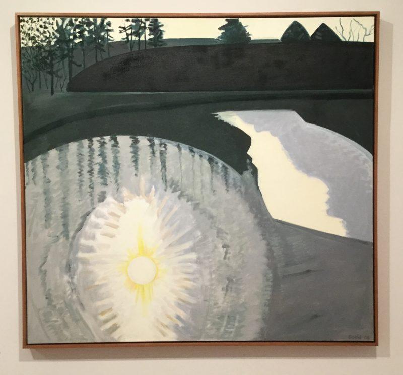 Lois Dodd landscape painting