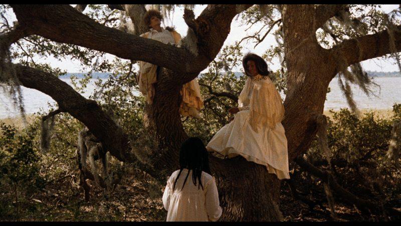 Trula Hoosier as Dz Trula dz (top), Barbara-O as Dz Yellow Mary Peazant dz (right), and Alva Rogers as Eula Peazant (bottom)