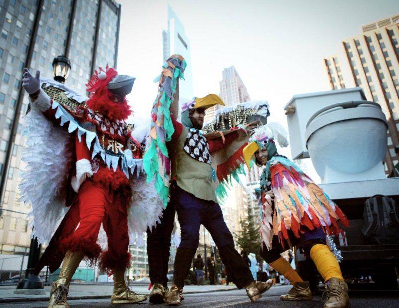 Mummer's parade 2017
