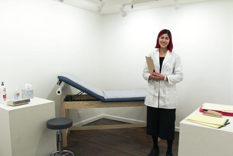 Emma Sulkowicz installation