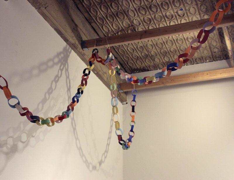 "Christine Buckton Tillman, ""Clay Paper Chain."""