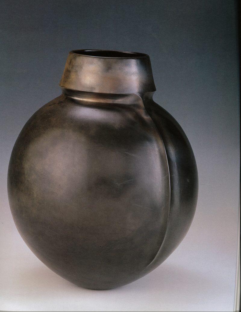 Magdalene Odundo vessel, 1983.