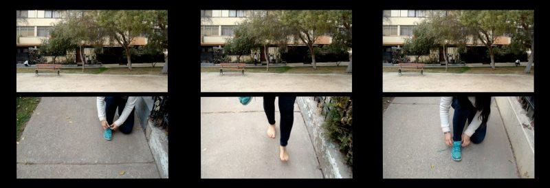 Manuela Flores, Rivadavia 6676, detail of video