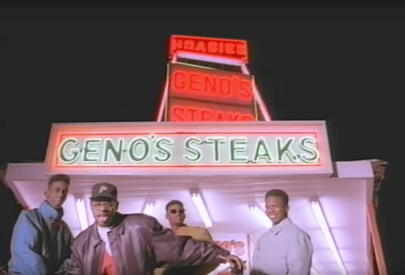 """Screen grab from Boyz II Men's 1991 hit """"Motownphilly"""""""