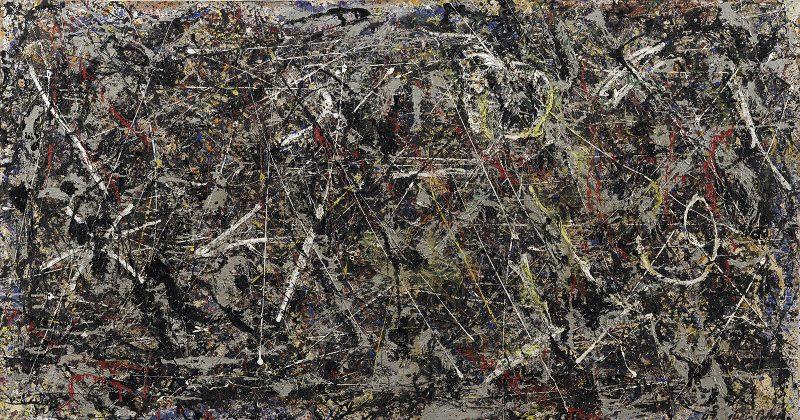 Jackson Pollock Alchemy painting Guggenheim