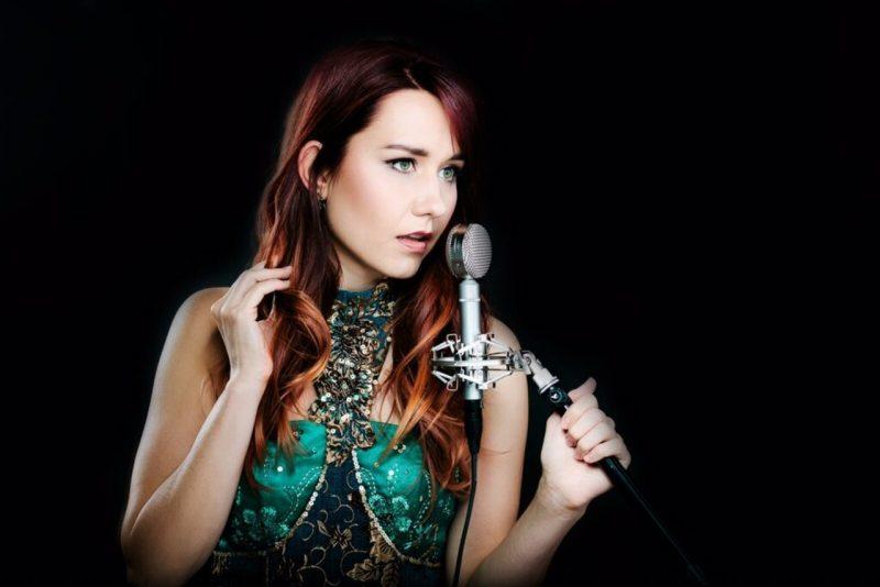 Elizabeth Zharoff, soprano; courtesy of Bryan Buttler