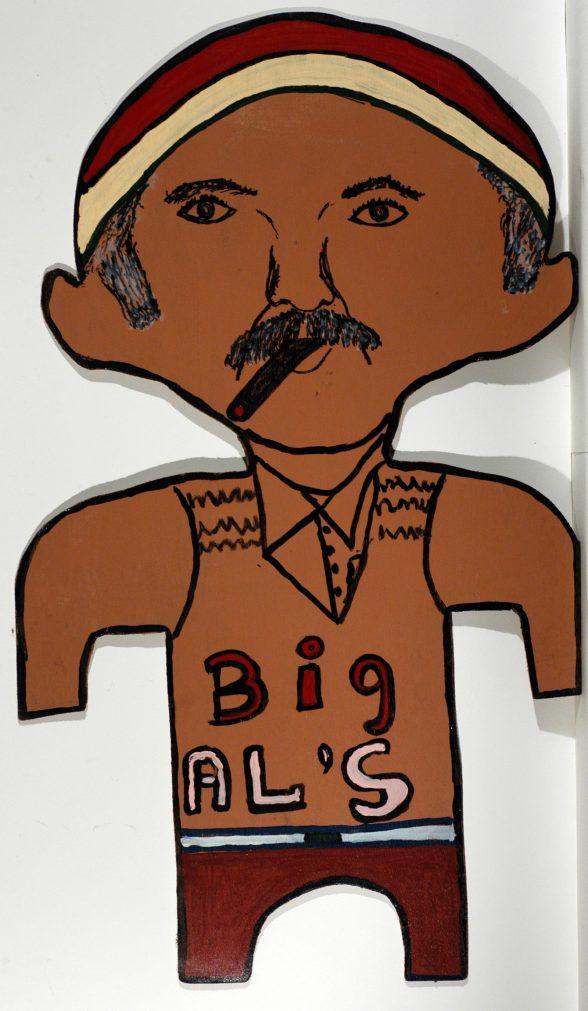 Big Al Taplet, Self Portrait.