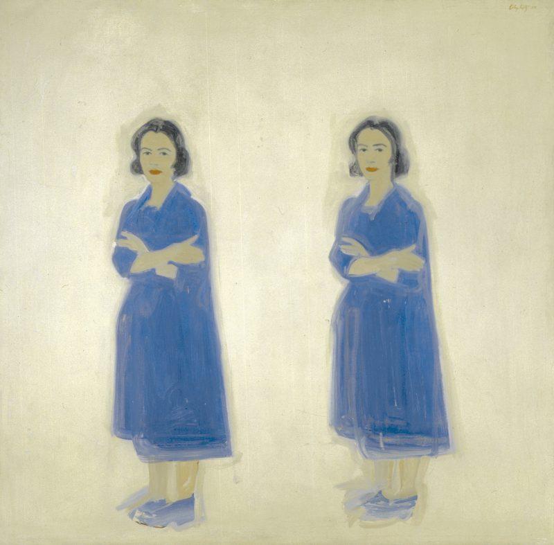 "Alex Katz, ""Ada Ada,"" 1959."