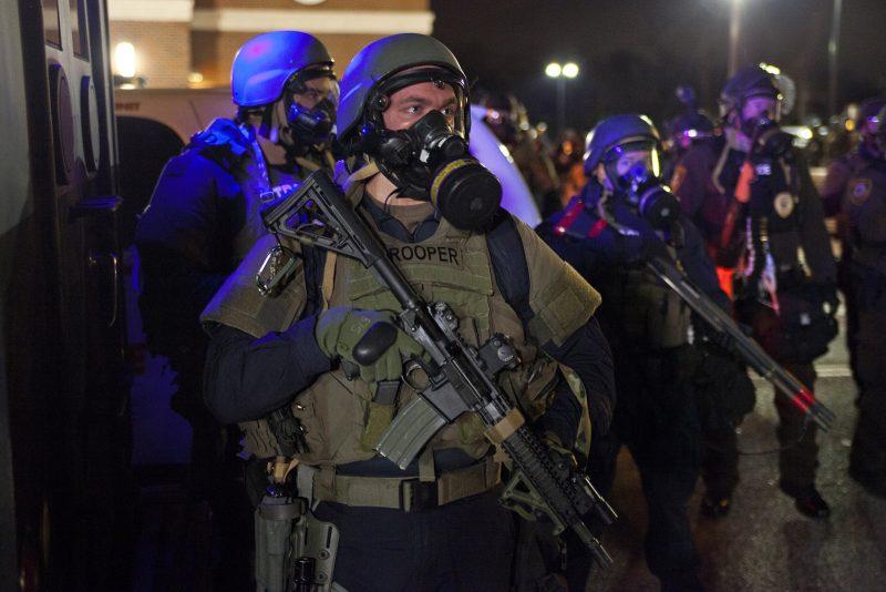 Riot Police in Ferguson Magnolia Pictures