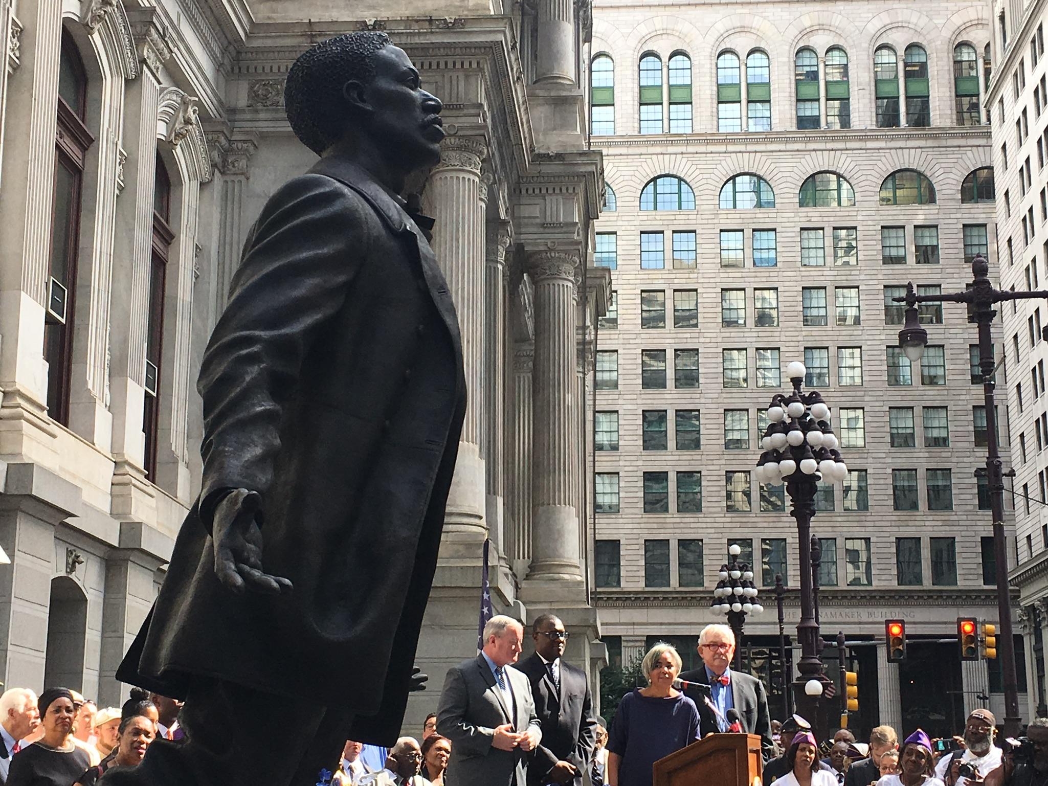 Artblog Memorial To Octavius V Catto At City Hall