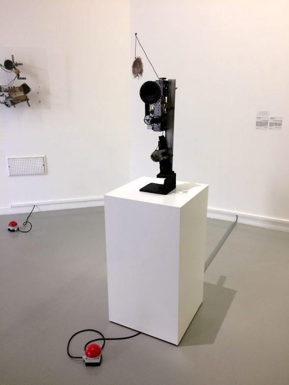 "LAAC, Jean Tinguely ""Radio Sculpture""."