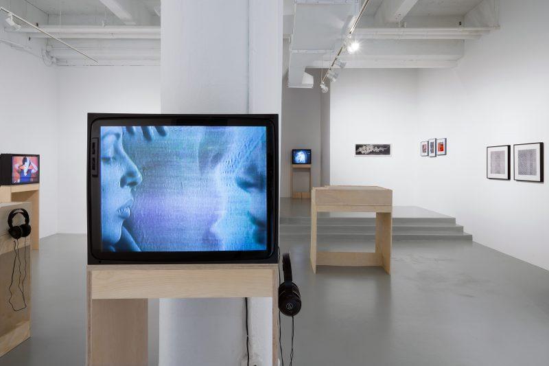 Making/Breaking the Binary: Women, Art, & Technology, installation view.