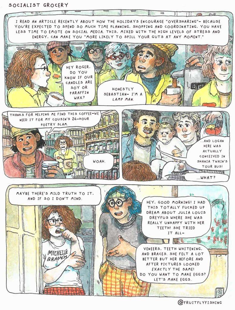 Socialist Grocery by Oli Knowles