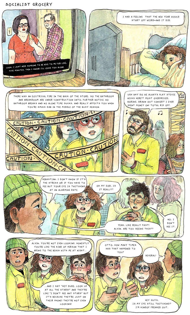 Oli Knowles, Socialist Grocery, Comic
