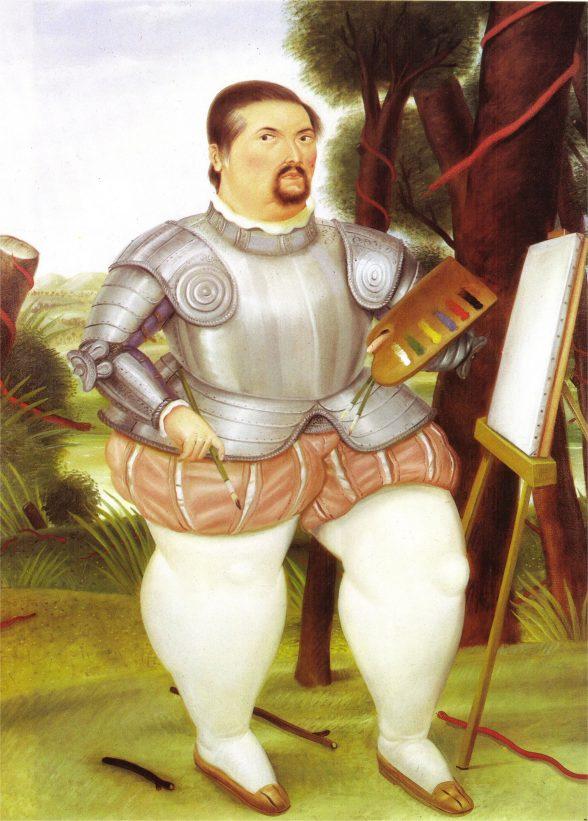 Self portrait as Spanish Conquistador.