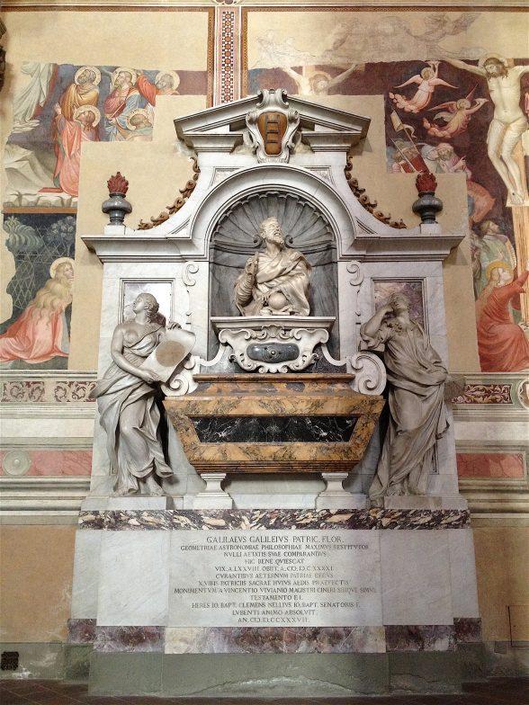 Galileo's Tomb, Santa Croce, Florence