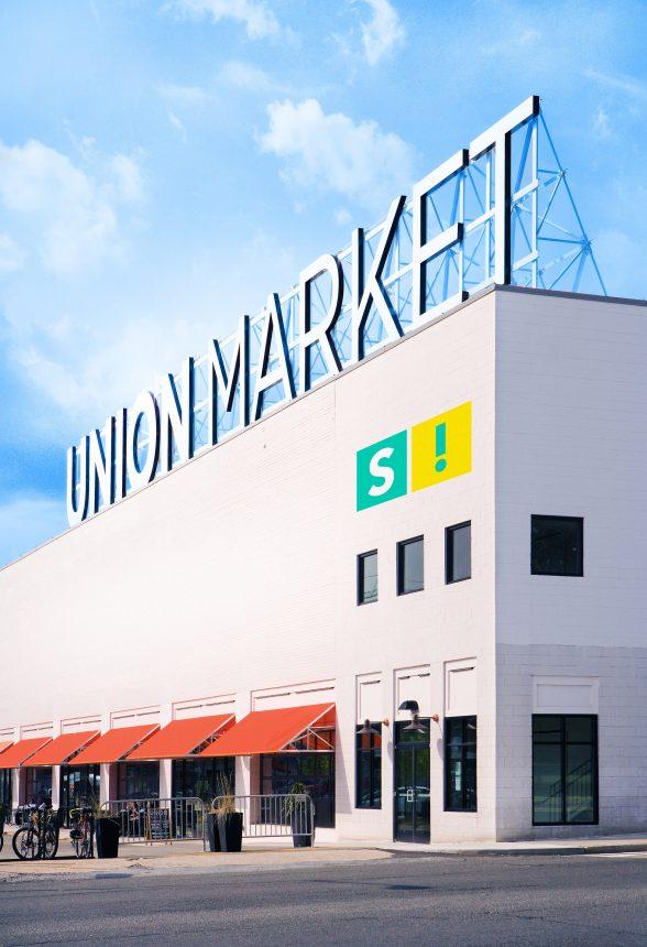 Union Market with Superfine! Logo.