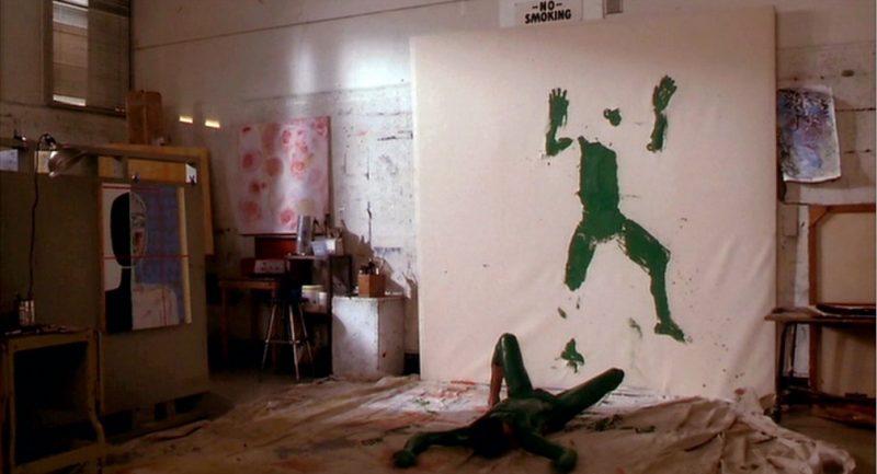 Screenshot from Art School Confidential, 2006.
