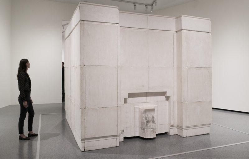 Rachel Whiteread Ghost, 1990 plaster on steel frame overall: 269 x 355.5 x 317.5 cm (105 7/8 x 139 15/16 x 125 in.) National Gallery of Art, Washington, Gift of The Glenstone Foundation © Rachel Whiteread