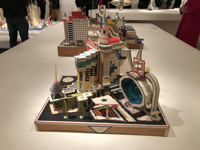 """Bodys Isek Kengelez, """"Africanisch"""" 1994 at MoMA"""