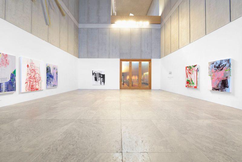 AXIO, Installation view, Heet Lee, Museum der Bildenden Künste, Leipzig, Germany