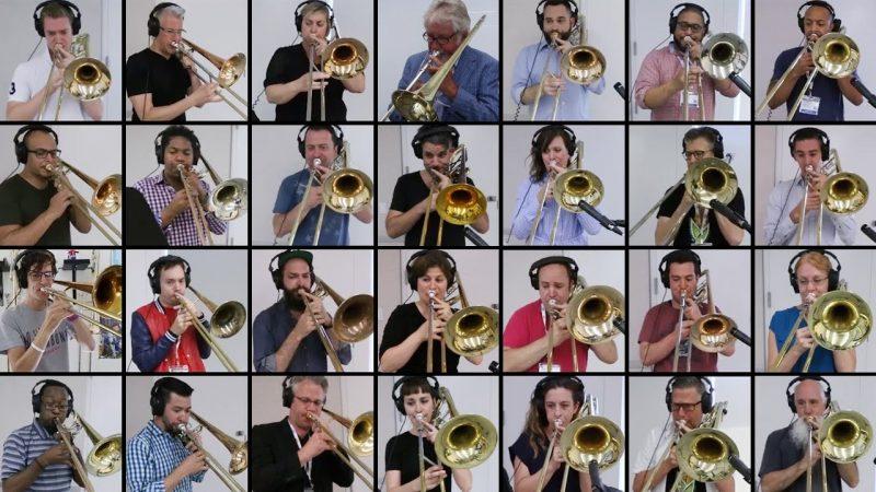Trombone Bohemian Rhapsody, from their website