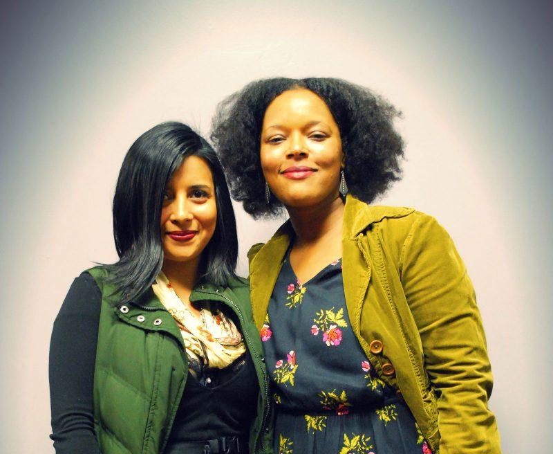 Karina Puente with Yolanda Wisher. Photo by @markanthonypalacio