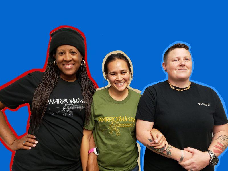 Angela Waller (left), Lovella Calica (center), and Ginn McGill-Prather (right)