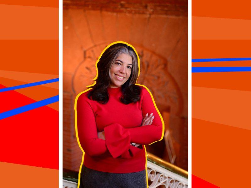 Dr. Gwendolyn DuBois Shaw. Photo courtesy Wit López, edited by Morgan Nitz.