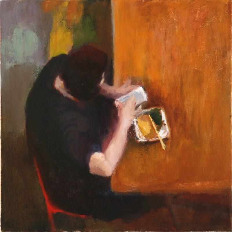 """""""Solo,"""" Caroline Chen. From """"Mind the Gap"""" at Delaware Contemporary. Photo courtesy Delaware Contemporary."""