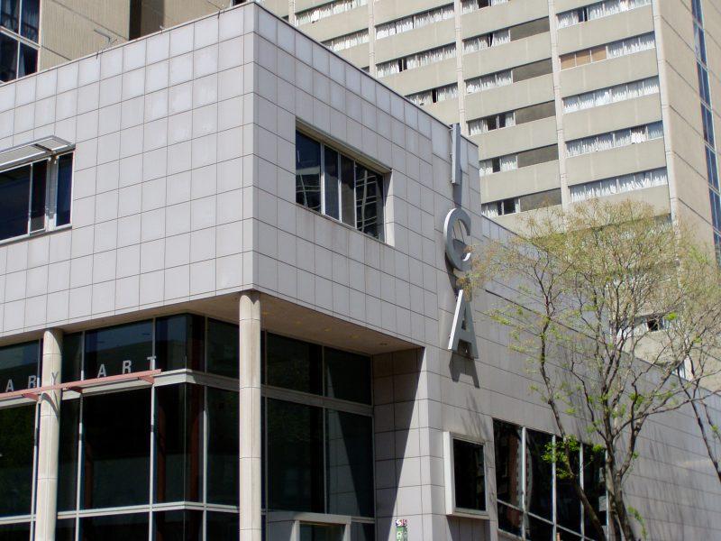 The Institute of Contemporary Art In Philadelphia.