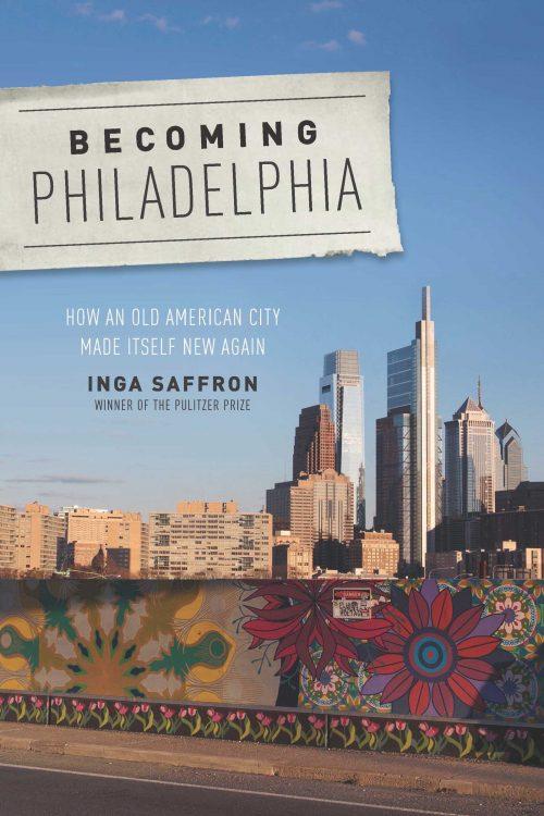 Book cover with Philadephia skyline.