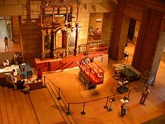 Philadelphia Museum, installation in progress