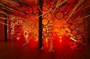 Jenny Sabin's myThread Pavilion.