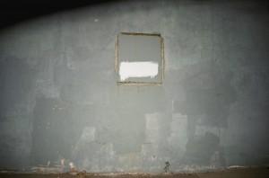 "Ben Gallman, ""Untitled 5."" Archival digital photograph. 7.5'' x 1.'5""."