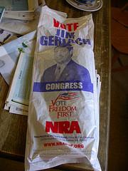 nra newspaper bag