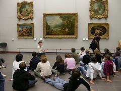 Louvre, art education