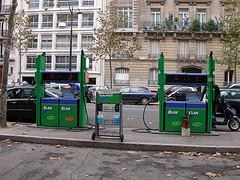 Paris gas station