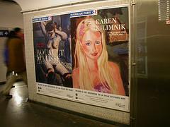 Paris subway, Paris Hilton