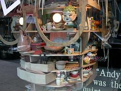 Barneys Warhol window