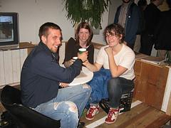 Chris Mahoski, Sarah O'Donnell, and Megan Bartley-Matthews