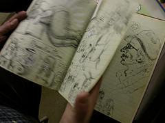 R. Crumb sketchbook
