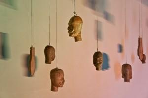 Teste di Legno (Wooden Heads) by Roberto Lo Sciuto, Pitré Museum, Palermo
