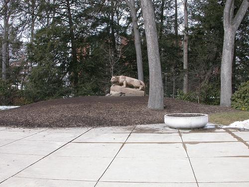 Nitany Lion shrine, Penn State