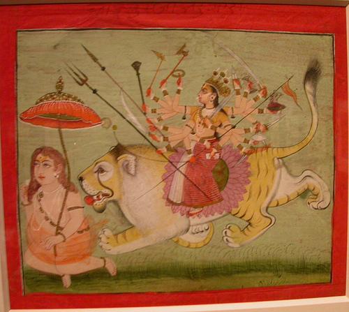 Great goddess as Ishwari
