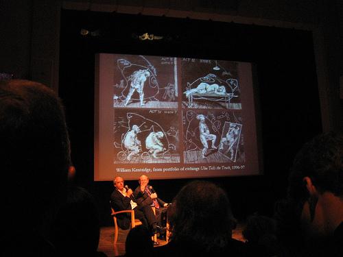 William Kentridge with Michael Taylor