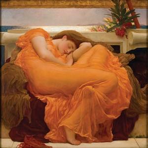 Frederick Leighton 'Flaming June' (1895) Museo de Arte, Ponce, Puerto Rico