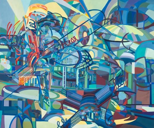 """Kate Abercrombie, """"Unisphere. Image courtesy Fleisher/Ollman"""