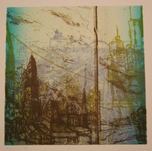 Alex Kirillov, Transit Series, Lithographs, 2012 a